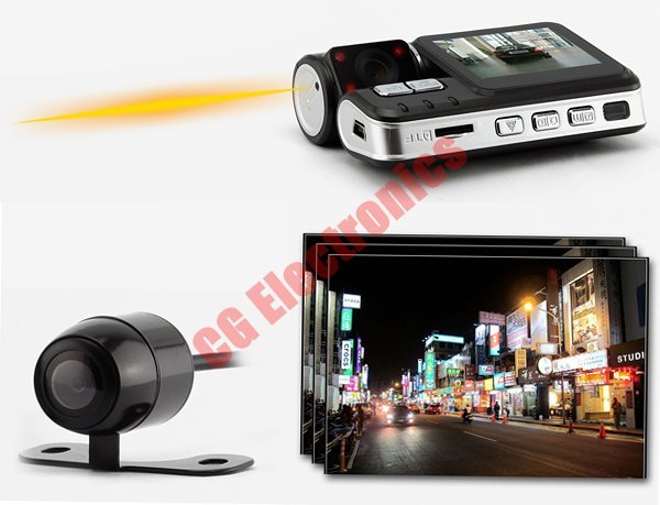 car camera with extra camera