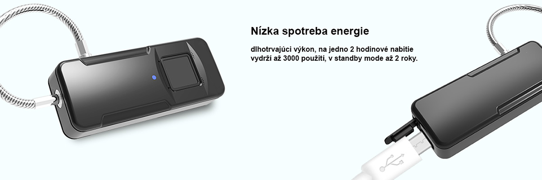 inteligentny biometricky zamok fingerprint