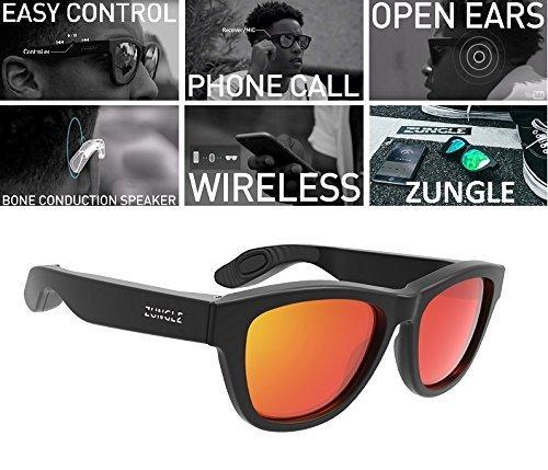 Slnečné okuliare ZUNGLE - Revolučné okuliare s bluetooth a reproduktormi 9795deee298