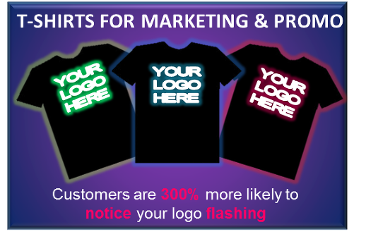 Custom - LED T-shirt design | Cool Mania
