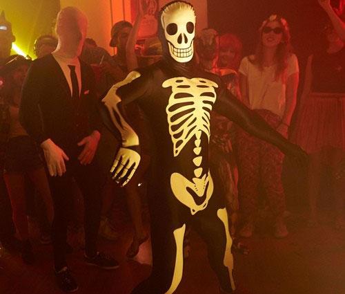 Costumi di Halloween Morph - Glow scheletro  5b2b6437d923