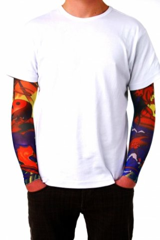Tattoo sleeves Jing Jang